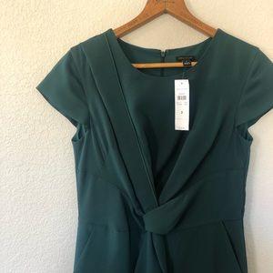 NWT Ann Taylor Asymmetrical Professional Dress
